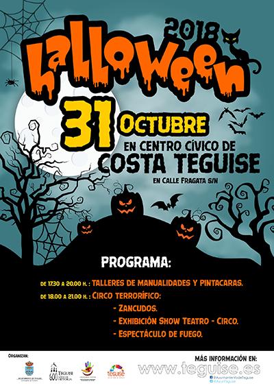 Costa Teguise Halloween 2018